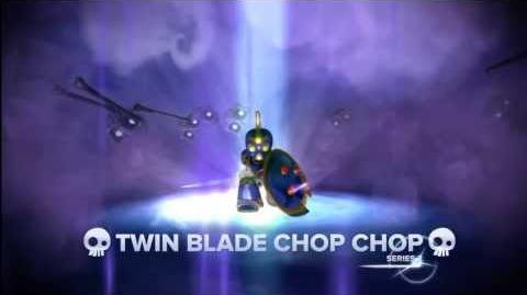 Meet the Skylanders - Twin Blade Chop Chop (Official Swap Force Trailer)