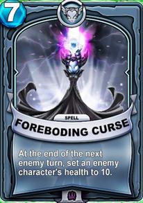 Foreboding Cursecard