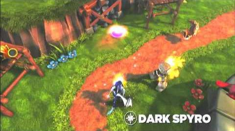 Skylanders Spyro's Adventure - Dark Spyro Preview Trailer (Lights Out)