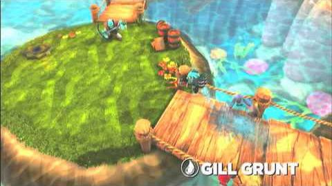 Skylanders Spyro's Adventure - Gill Grunt Preview Trailer (Fear the Fish)
