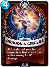 Dragon's Circlet - Gearcard