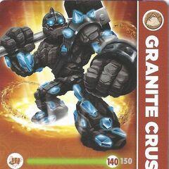 Carta de Granite Crusher