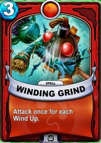 Winding Grindcard