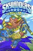Skylanders Micro Comic Tri and Tri again
