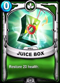 Juice Boxcard