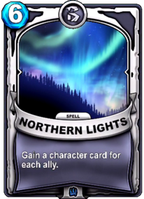 Northern Lightscard