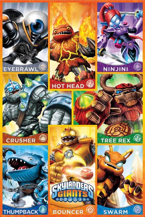 2 - Giants - poster 3