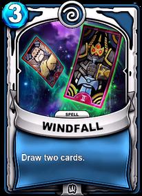 Windfallcard
