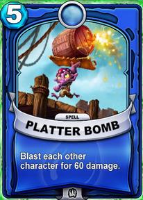 Platter Bombcard
