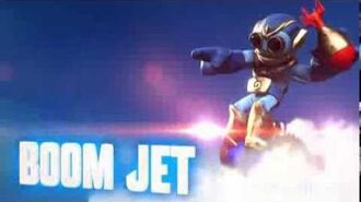 Skylanders- Swap Force - Boom Jet Soul Gem Preview (Bombs Away)
