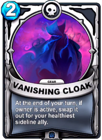 Vanishing Cloak - Gearcard