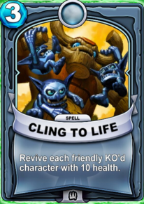Cling To Lifecard