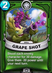 Grape Shotcard