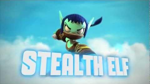 Skylanders Giants - SERIES 2 STEALTH ELF Official Trailer