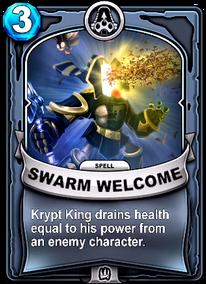 Swarm Welcomecard