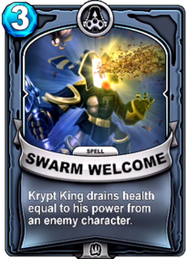Swarm Welcomecard