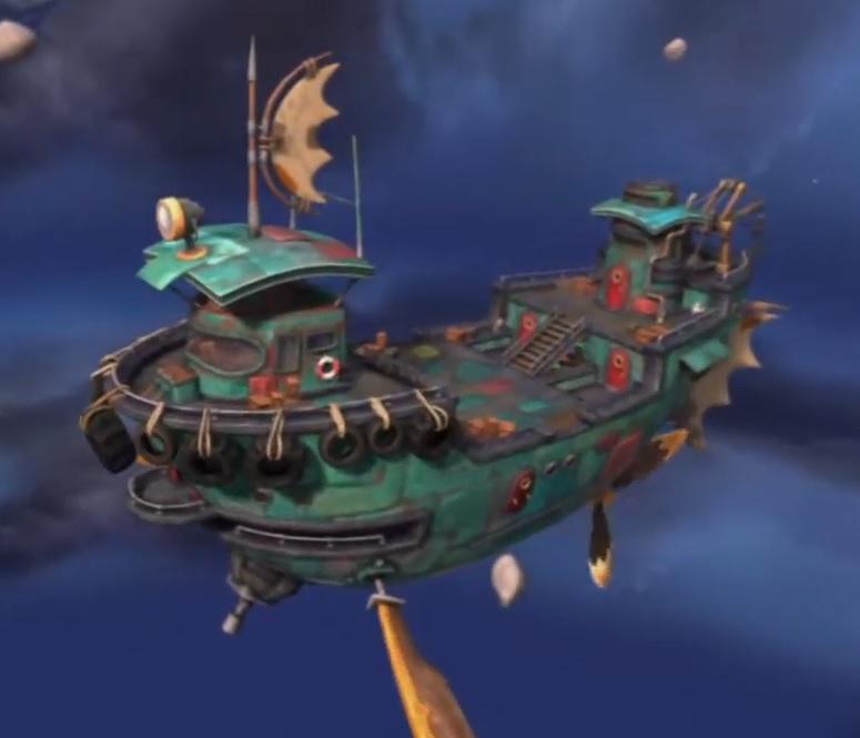The Dread Yacht Skylanders Wiki Fandom Powered By Wikia