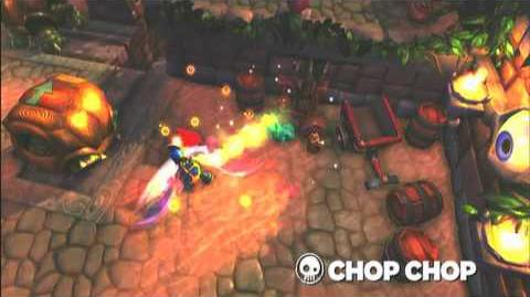 Skylanders Spyro's Adventure - Chop Chop Preview Trailer (Slice and Dice)