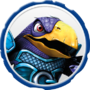 Cross Crow Villain Icon