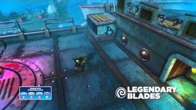 Meet the Skylanders Legendary Blades