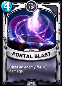 Portal Blastcard