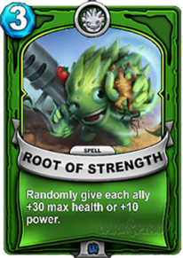 Root of Strengthcard