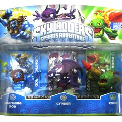 Cynder S1 en su single pack junto a <a href=