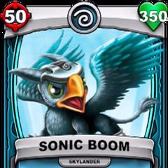 Carta de Sonic Boom de Skylanders: Battlecast