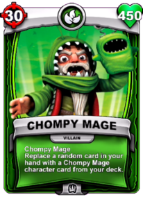 Chompy Mage - Special Abilitycard