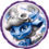 Power Blue Splat Icon