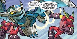 Blades Comic