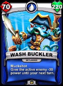 Muckshot - Special Abilitycard