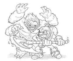 Slam Bam y Grim Creeper