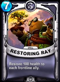 Restoring Raycard