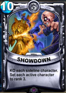 Showdown Animated Card