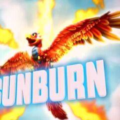Sunburn en su trailer de gema del alma de <a href=