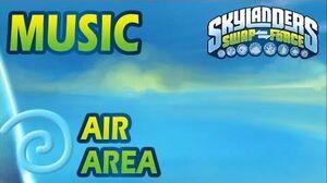 ♪♫ Air Elemental Area Skylanders SWAP Force Music