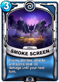 Smoke Screencard