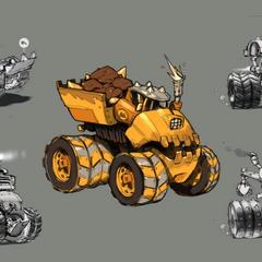 Conceptos y prototipos del Thump Truck