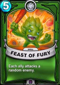 Feast of Furycard
