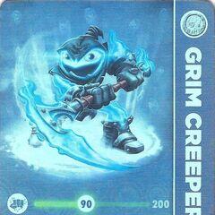 Carta de Lightcore Grim Creeper