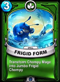 Frigid Formcard