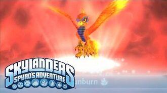 Meet the Skylanders Sunburn (extended) l Skylanders Spyro's Adventure l Skylanders-0