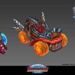 Concepto de diferentes modificaciones del Hot Streak