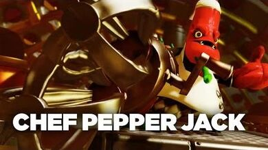 "Official Skylanders Trap Team- ""Meet the Villains- Chef Pepper Jack"" Trailer"