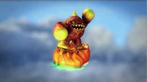 Skylanders Spyro's Adventure GamesCom 2011 Trailer - Eruptor