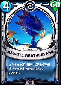 Azurite Weathervane - Reliccard