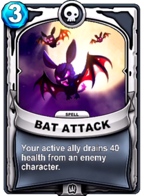 Bat Attackcard