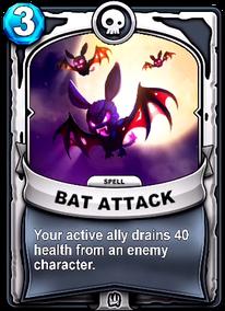 Bat Attackcard