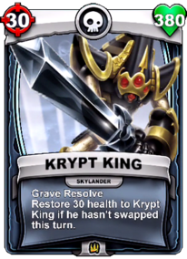 Special Ability - Grave Resolvecard